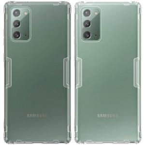 Nillkin Nature | Прозрачный силиконовый чехол  для Samsung Galaxy Note 20