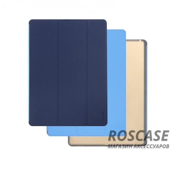Чехол (книжка) Rock Phantom Series для Apple iPad Pro 12,9 (Синий / Голубой)Описание:производитель -&amp;nbsp;ROCK;совместим с Apple iPad Pro 12,9;материал: искусственная кожа;тип: чехол-книжка.Особенности:все функциональные вырезы в наличии;двухцветную обложку можно переставлять, меняя цвет чехла;трансформируется в подставку;функция Sleep mode;защита от механических повреждений;матовый;не скользит в руках.<br><br>Тип: Чехол<br>Бренд: ROCK<br>Материал: Искусственная кожа
