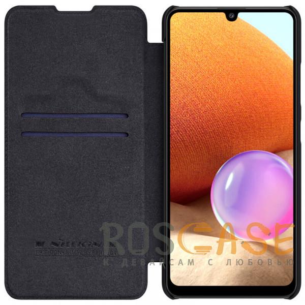 Фото Черный Nillkin Qin   Чехол-книжка из Premium экокожи для Samsung Galaxy A32 4G
