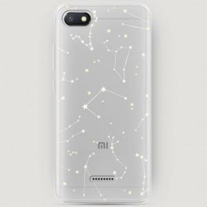 RosCase | Силиконовый чехол Созвездия на Xiaomi Redmi 6A