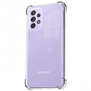 King Kong | Противоударный прозрачный чехол для Samsung Galaxy A72 с защитой углов