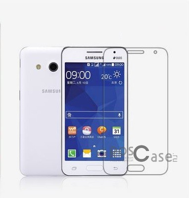 Прозрачная глянцевая защитная пленка на экран с гладким пылеотталкивающим покрытием для Samsung G355 Galaxy Core 2Описание:бренд-производитель:&amp;nbsp;Nillkin;разработана специально для Samsung G355 Galaxy Core 2;материал: полимер;тип: защитная пленка.&amp;nbsp;Особенности:соответствие функциональных вырезов указанной модели устройства;не притягивает пыль;не влияет на чувствительность сенсорного экрана;легко очищается;свойство анти-отпечатки.<br><br>Тип: Защитная пленка<br>Бренд: Nillkin