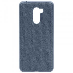 Fiber Logo   TPU чехол с текстильным покрытием для Xiaomi Pocophone F1