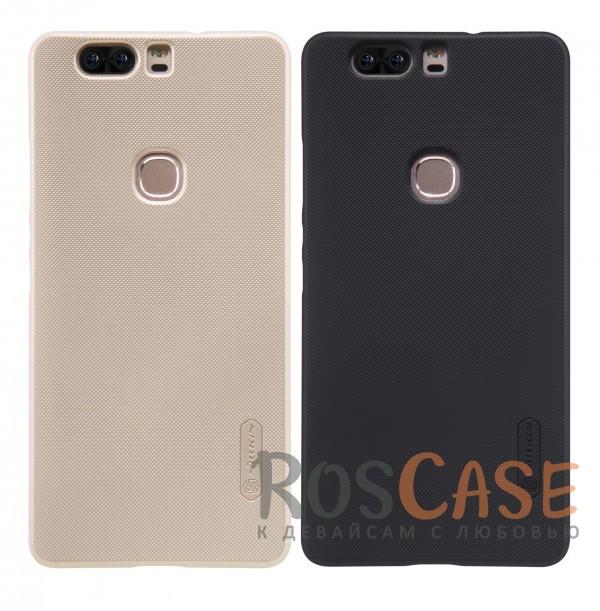 Чехол Nillkin Matte для Huawei Honor V8 (+ пленка)Описание:бренд:&amp;nbsp;Nillkin;разработан для Huawei Honor V8;материал: поликарбонат;тип: накладка.Особенности:не скользит в руках благодаря рельефной поверхности;защищает от повреждений;прочный и долговечный;легко устанавливается и снимается;пленка для защиты экрана в комплекте.<br><br>Тип: Чехол<br>Бренд: Nillkin<br>Материал: Пластик