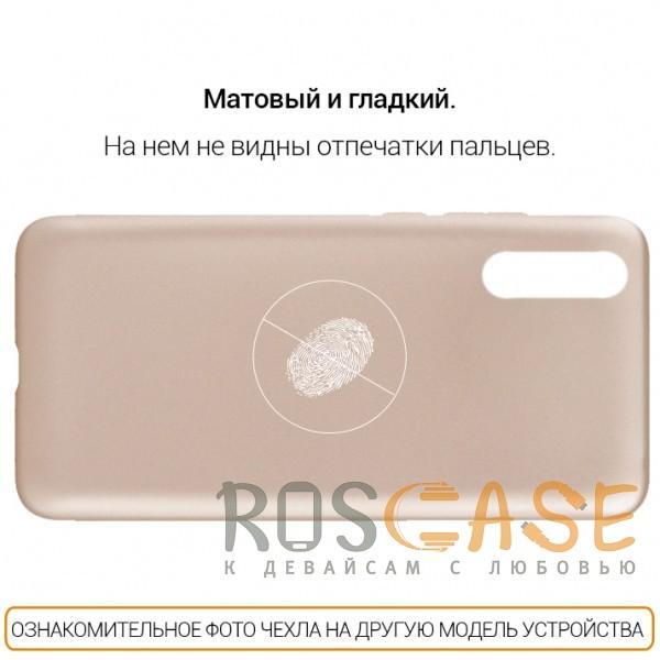 Изображение Золотой J-Case THIN | Гибкий силиконовый чехол для Samsung G955 Galaxy S8 Plus
