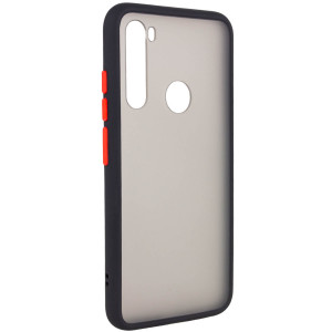Противоударный матовый полупрозрачный чехол для Xiaomi Redmi Note 8