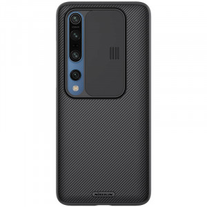 Nillkin CamShield | Пластиковый чехол с защитой камеры  для Xiaomi Mi 10 (Pro)
