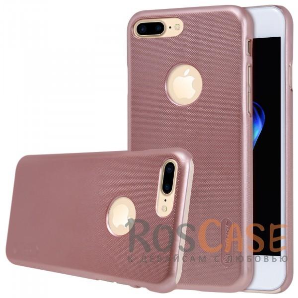 Чехол Nillkin Matte для Apple iPhone 7 plus (5.5) (+ пленка) (Розовый / Rose Gold)Описание:бренд&amp;nbsp;Nillkin;спроектирована для&amp;nbsp;Apple iPhone 7 plus (5.5);материал - поликарбонат;тип - накладка.Особенности:фактурная поверхность;защита от ударов и царапин;тонкий дизайн;наличие функциональных вырезов;пленка на экран в комплекте.<br><br>Тип: Чехол<br>Бренд: Nillkin<br>Материал: Поликарбонат