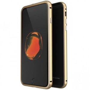 LUPHIE Metal Frame | Металлический бампер для Apple iPhone 7 с глянцевой панелью