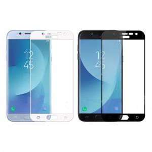 Mocolo CP+   Стекло с цветной рамкой на весь экран для Samsung J330 Galaxy J3 (2017)