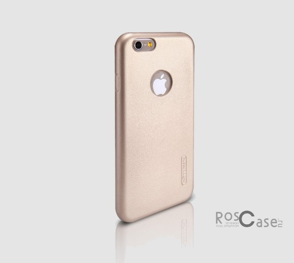 Чехол накладка Nillkin Victoria Series для Apple iPhone 6/6s (4.7) (Золотой)Описание:производитель  -  фирма Nillkin;разработан специально для Apple iPhone 6/6s (4.7);материал  -  искусственная кожа;тип  -  накладка.&amp;nbsp;Особенности:мягкая на ощупь;все функциональные вырезы на своих местах;не остаются отпечатки пальцев;тонкий дизайн;защищает от царапин и падений;не скользит.<br><br>Тип: Чехол<br>Бренд: Nillkin<br>Материал: Искусственная кожа