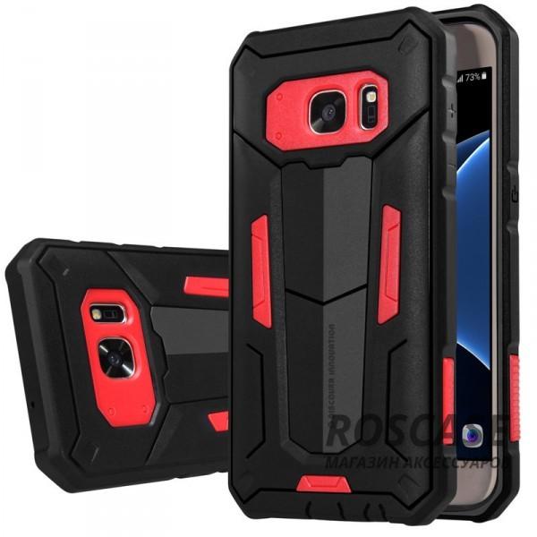 TPU+PC чехол Nillkin Defender 2 для Samsung G930F Galaxy S7 (Красный)Описание:производитель  - &amp;nbsp;Nillkin;совместим с Samsung G930F Galaxy S7;материал  -  термополиуретан, поликарбонат;тип  -  накладка.&amp;nbsp;Особенности:в наличии все вырезы;противоударный;стильный дизайн;надежно фиксируется;защита от повреждений.<br><br>Тип: Чехол<br>Бренд: Nillkin<br>Материал: TPU