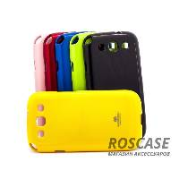TPU чехол Mercury Jelly Color series для Samsung i9300 Galaxy S3