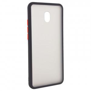 Противоударный матовый полупрозрачный чехол  для Xiaomi Redmi 8A