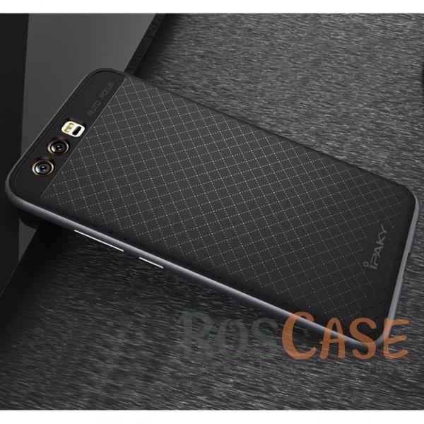 Фото Черный / Серый iPaky Hybrid | Противоударный чехол для Huawei P10