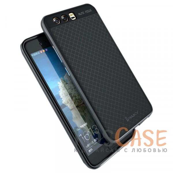 Фотография Черный / Серый iPaky Hybrid | Противоударный чехол для Huawei P10