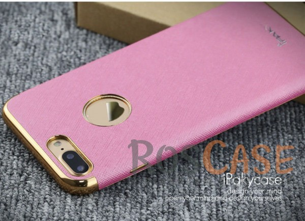 Кожаная накладка iPaky Chrome Series для Apple iPhone 7 plus (5.5) (Розовый)Описание:производитель: iPaky;создана для&amp;nbsp;Apple iPhone 7 plus (5.5);материал изделия: искусственная кожа, хромированный пластик;конфигурация: накладка.Особенности:двухцветный дизайн;рельефная фактура;встроенная металлическая пластина;наличие всех функциональных вырезов;защита от царапин и ударов.<br><br>Тип: Чехол<br>Бренд: Epik<br>Материал: Искусственная кожа