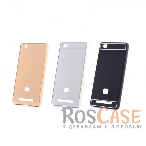 Металлический бампер с пластиковой вставкой для Xiaomi Redmi 3Описание:сделан для Xiaomi Redmi 3;материалы: металл, пластик;тип чехла: бампер со вставкой.Особенности:металлическая окантовка;эргономичный дизайн;защита от механических повреждений;вставка из пластика;предусмотрены все функциональные вырезы;прочно фиксируется.<br><br>Тип: Чехол<br>Бренд: Epik<br>Материал: Металл