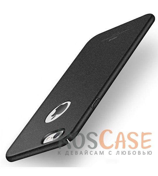 Пластиковый чехол Msvii Quicksand series для Apple iPhone 7 (4.7) (Черный)Описание:производитель - Msvii;совместим с Apple iPhone 7 (4.7);материал  -  пластик;тип  -  накладка.&amp;nbsp;Особенности:матовая поверхность;имеет все разъемы;тонкий дизайн не увеличивает габариты;накладка не скользит;защищает от ударов и царапин;износостойкая.<br><br>Тип: Чехол<br>Бренд: Epik<br>Материал: Пластик