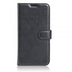 Гладкий кожаный чехол-бумажник на магнитной застежке с функцией подставки и внутренними карманами для Lenovo C2 / C2 Power