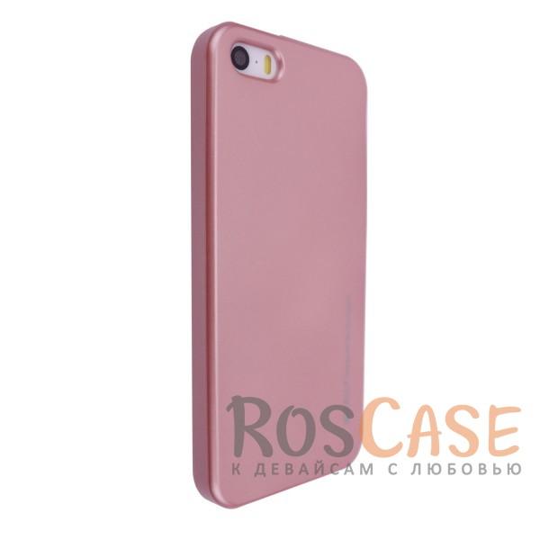 Фото Rose Gold Mercury iJelly Metal | Силиконовый чехол для Apple iPhone 5/5S/SE