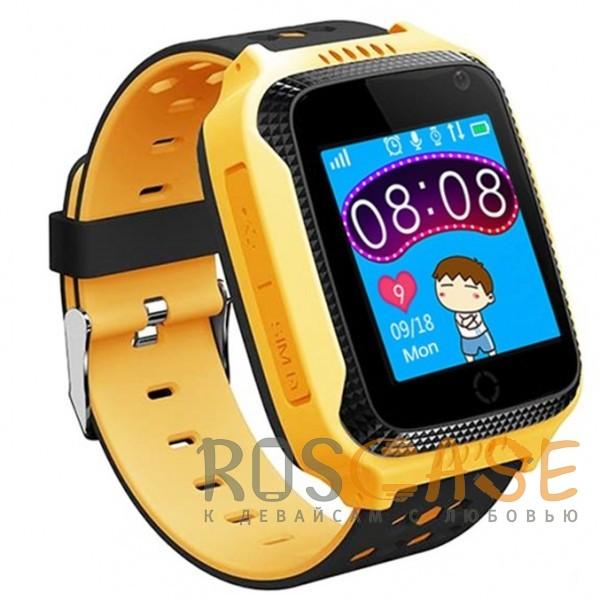 Фотография Желтый Умные детские часы Smart Baby Watch T7