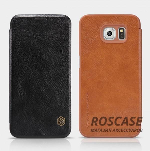 Кожаный чехол (книжка) Nillkin Qin Series для Samsung Galaxy S6 G920F/G920D DuosОписание:бренд: Nillkin;идеален: Samsung Galaxy S6 G920F/G920D Duos;изготовление: кожа в сочетании с полиуретаном;вид: книжка.Особенности:не скользит в руках;не выгорает;надежная комплексная защита смартфона;практичность материала.<br><br>Тип: Чехол<br>Бренд: Nillkin<br>Материал: Натуральная кожа