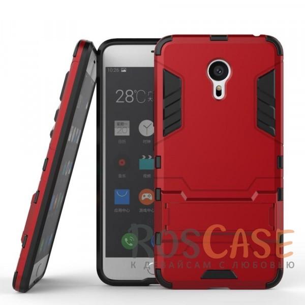 Ударопрочный чехол-подставка Transformer для Meizu Pro 6 с мощной защитой корпуса (Красный / Dante Red)Описание:подходит для Meizu Pro 6;материалы: термополиуретан, поликарбонат;формат: накладка.&amp;nbsp;Особенности:функциональные вырезы;функция подставки;двойная степень защиты;защита от механических повреждений;не скользит в руках.<br><br>Тип: Чехол<br>Бренд: Epik<br>Материал: TPU