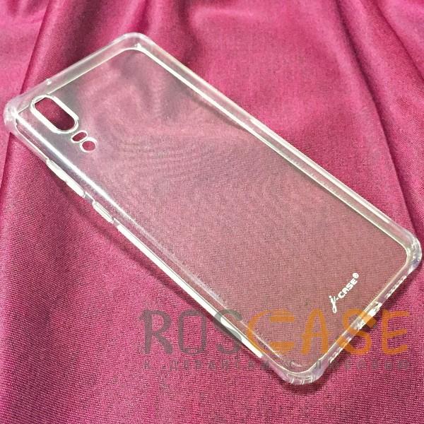 Фото Бесцветный J-Case THIN | Гибкий силиконовый чехол для Huawei Honor 8X