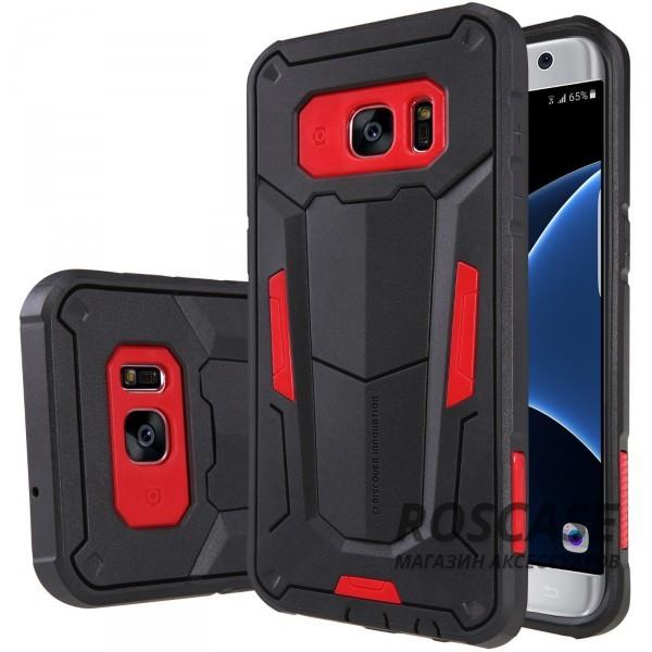 TPU+PC чехол Nillkin Defender 2 для Samsung G935F Galaxy S7 Edge (Красный)Описание:производитель  - &amp;nbsp;Nillkin;совместим с Samsung G935F Galaxy S7 Edge;материал  -  термополиуретан, поликарбонат;тип  -  накладка.&amp;nbsp;Особенности:в наличии все вырезы;противоударный;стильный дизайн;надежно фиксируется;защита от повреждений.<br><br>Тип: Чехол<br>Бренд: Nillkin<br>Материал: TPU