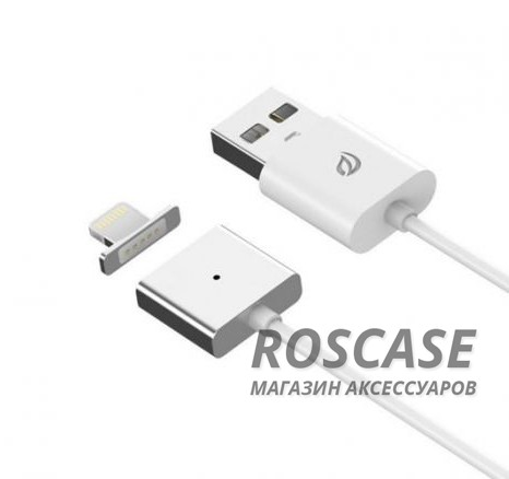 фото  Магнитный кабель WSKEN X-cable Lightning для Apple iPhone 5/5s/5c/SE/6/6 Plus/6s/6s Plus /7/7 Plus