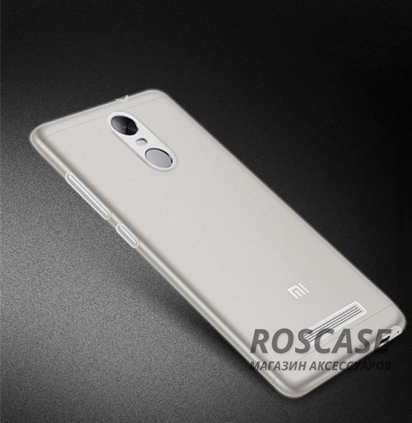 Ультратонкий силиконовый чехол Ultrathin 0,33mm для Xiaomi Redmi Note 3 / Redmi Note 3 Pro (Бесцветный (прозрачный))Описание:бренд:&amp;nbsp;Epik;совместим с Xiaomi Redmi Note 3;материал: термополиуретан;тип: накладка.&amp;nbsp;Особенности:ультратонкий дизайн - 0,33 мм;прозрачный;эластичный и гибкий;надежно фиксируется;все функциональные вырезы в наличии.<br><br>Тип: Чехол<br>Бренд: Epik<br>Материал: TPU