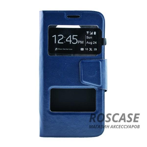 Чехол (книжка) с TPU креплением для Samsung G925F Galaxy S6 Edge (Синий)Описание:производитель - бренд&amp;nbsp;Epik;разработан для Samsung G925F Galaxy S6 Edge;материал: искусственная кожа;тип: чехол-книжка.&amp;nbsp;Особенности:имеются функциональные вырезы;магнитная застежка;защита от ударов и падений;окошко в обложке;ответ на вызов через обложку;не скользит в руках.<br><br>Тип: Чехол<br>Бренд: Epik<br>Материал: Искусственная кожа