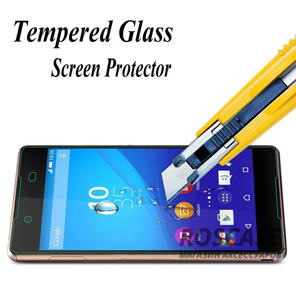 изображение защитное стекло ROCK Tempered (2.5D) 0.3 mm Glass Series для Sony Xperia Z3+/Xperia Z3+ Dual