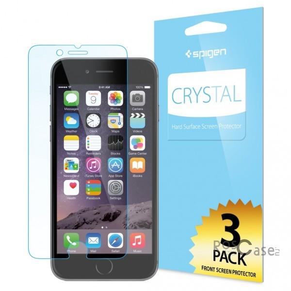 """фото защитная пленка SGP Crystal CR (3шт на экран) для Apple iPhone 6/6s (4.7"""")"""