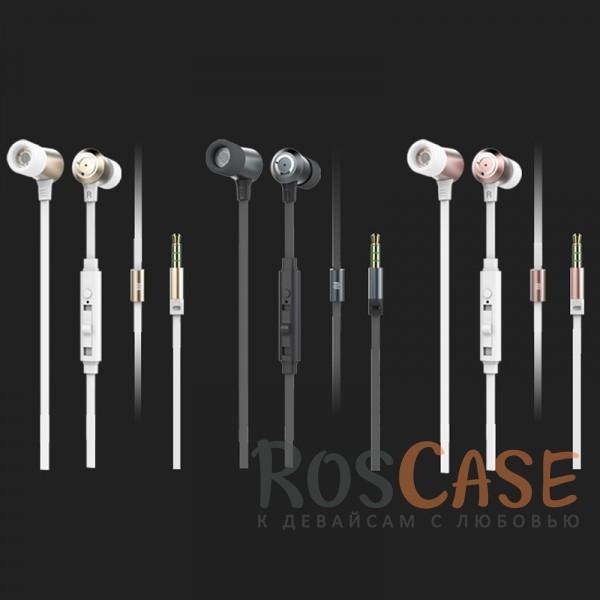 Наушники ROCK Mula S stereoОписание:производитель  - &amp;nbsp;Rock;материалы - TPE, алюминий, силикон;разъем  -  3,5 mini jack;тип  -  наушники.<br><br>Тип: Наушники/Гарнитуры<br>Бренд: ROCK