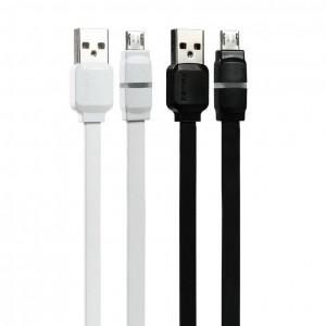 "Remax RC-029 | Плоский дата кабель с разъемом MicroUSB (100 см) для Apple iPhone 5/5S (4.0"")"