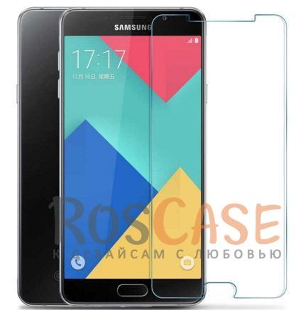 Защитное стекло Ultra Tempered Glass 0.33mm (H+) для Samsung A9100 Galaxy A9 Pro (2016) (карт. уп-а)Описание:бренд&amp;nbsp;Epik;совместимо с Samsung A9100 Galaxy A9 Pro (2016);материал: закаленное стекло;тип: защитное стекло на экран.&amp;nbsp;Особенности:закругленные&amp;nbsp;грани;не влияет на чувствительность сенсора;легко очищается;толщина - &amp;nbsp;0,33 мм;абсолютно прозрачное;защита от царапин и ударов.<br><br>Тип: Защитное стекло<br>Бренд: Epik