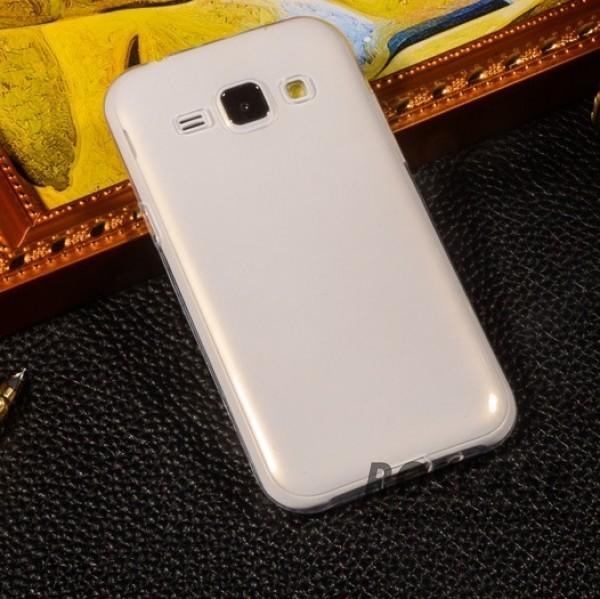 Ультратонкий силиконовый чехол для Samsung Galaxy J1 Duos SM-J100 (Бесцветный (прозрачный))Описание:изготовлен компанией&amp;nbsp;Epik;разработан для Samsung Galaxy J1 Duos SM-J100;материал: термополиуретан;тип: накладка.&amp;nbsp;Особенности:толщина накладки - 0,33 мм;прозрачный;эластичный;надежно фиксируется;есть все функциональные вырезы.<br><br>Тип: Чехол<br>Бренд: Epik<br>Материал: TPU