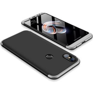 GKK LikGus 360° | Двухсторонний чехол для Xiaomi Redmi Note 5 Pro с защитными вставками