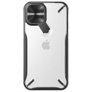 Nillkin Cyclops | Чехол с защитной крышкой камеры и подставкой  для iPhone 12 / 12 Pro