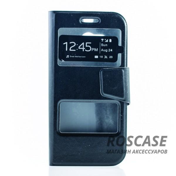 Чехол (книжка) с TPU креплением для HTC New One 2 / M8 (Черный)Описание:компания-изготовитель&amp;nbsp;Epik;совместимость:&amp;nbsp;HTC New One 2 / M8;материал: искусственная кожа;тип: чехол-книжка.&amp;nbsp;Особенности:имеются все функциональные вырезы;магнитная застежка закрывает обложку;защита от ударов и падений;окошки в обложке;превращается в подставку.<br><br>Тип: Чехол<br>Бренд: Epik<br>Материал: Искусственная кожа