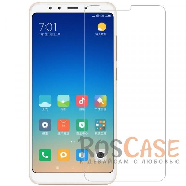 Антибликовое защитное стекло с олеофобным покрытием анти-отпечатки для Xiaomi Redmi 5Описание:совместимо с Xiaomi Redmi 5;материал: закаленное стекло;прочное;ультратонкое - 0,33 мм;защищает от царапин и ударов;разработано с учетом особенностей экрана гаджета;размеры стекла -&amp;nbsp;144,5*65,2 мм.<br><br>Тип: Защитное стекло<br>Бренд: Nillkin
