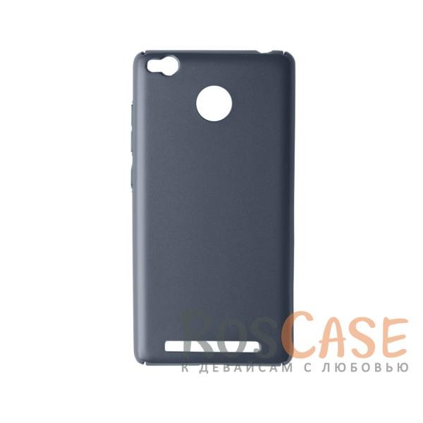 Пластиковая накладка soft-touch с защитой торцов Joyroom для Xiaomi Redmi 3 Pro / Redmi 3s (Синий)<br><br>Тип: Чехол<br>Бренд: Epik<br>Материал: Пластик