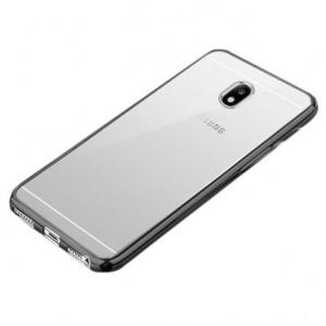 Силиконовый чехол для Samsung J330 Galaxy J3 (2017) с глянцевой окантовкой