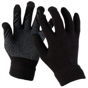 Емкостные перчатки утепленные (нескользящие)