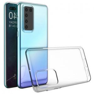 Прозрачный силиконовый чехол  для Huawei P40