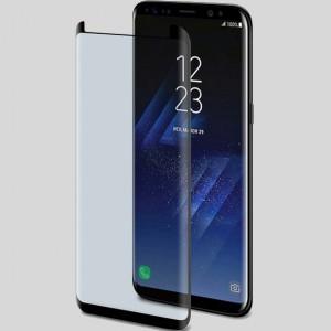 5D защитное стекло для Samsung G950 Galaxy S8 / S9 с полной проклейкой на весь экран