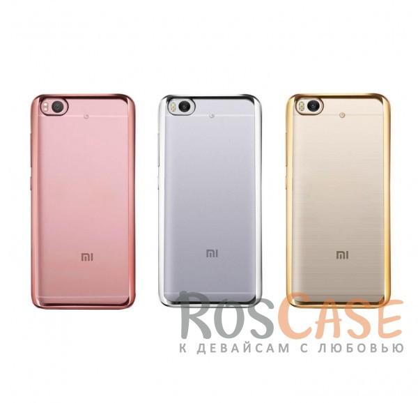 Прозрачный силиконовый чехол для Xiaomi Mi 5s с глянцевой окантовкойОписание:совместим с Xiaomi Mi 5s;материал - термополиуретан;тип - накладка.<br><br>Тип: Чехол<br>Бренд: Epik<br>Материал: TPU