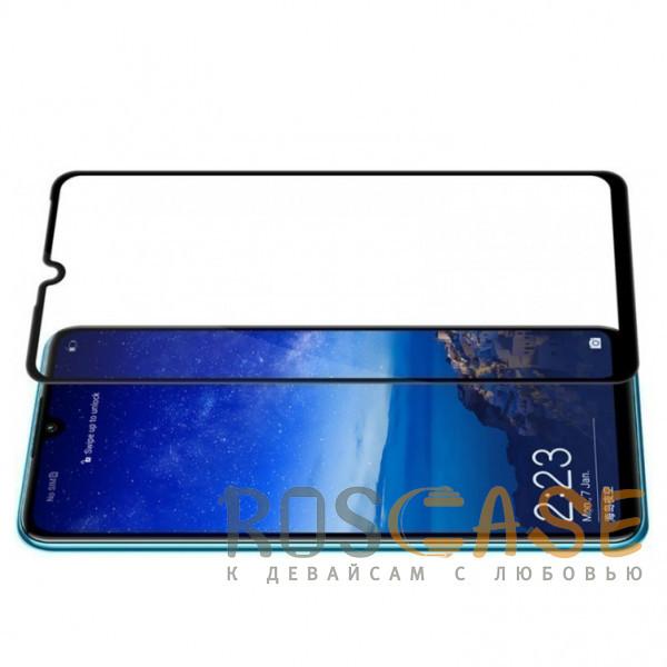 Изображение Черный 5D защитное стекло для Huawei P30 на весь экран